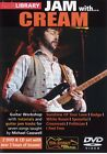 JAM WITH CREAM LICK LIBRARY GUITAR DOUBLE DVD & CD SET LEARN TO PLAY