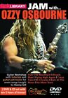 JAM WITH OZZY OSBOURNE LICK LIBRARY GUITAR PLAY ALONG DVD & CD NEW RDR0252