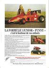 FUNNY - FORMULE 1 JUNIOR - SBCA 44 LA BAULE / 1992 PUBLICITE PAPIER PRESSE