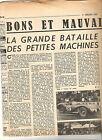 24 HEURES MANS ASTON MARTIN JAGUAR DB PANHARD - 1954 / ARTICLE REPORTAGE PRESSE