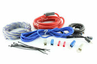 MASSIVE AUDIO Complete 8 Gauge 100% OFC Amplifier Wiring Kit | G8