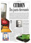 JOUETS CITROEN / 1991 ARTICLE PRESSE REPORTAGE COUPURE MAGAZINE