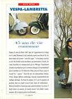 VESPA LAMBRETTA / 1993 ESSAI ARTICLE PRESSE REPORTAGE COUPURE MAGAZINE