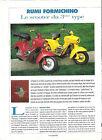 RUMI FORMICHINO / 1993 ESSAI ARTICLE PRESSE REPORTAGE COUPURE MAGAZINE
