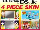 DS Lite - Phineas e Ferb - 4 PEZZI Adesivo sottile UK