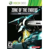 Zone of the Enders HD Collection (Microsoft Xbox 360, 2012) NEW