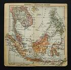 XX Sec.Gravur Geografical Map.INDOCINA - ARCIP.MALESE..