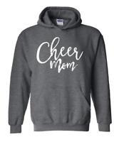 Cheer Mom Elegant Matching Mothers Day Birthday Xmas Unisex Hoodies Sweater