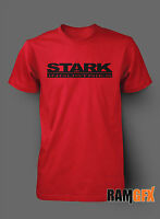 IRON MAN STARK INDUSTRIES COMIC NOVELTY BNWT ADULT T SHIRT S-XXL PERSONALISED