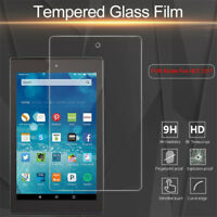 For Kindle Fire HD 6 7 8 10 2017 Tablet Tempered Glass Film Screen Protector
