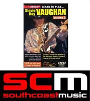 LICK LIBRARY LEARN TO PLAY STEVIE RAY VAUGHAN VOL 2 DVD TUITIONAL RDR0088