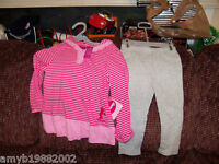 Disney 2 PC Minnie Mouse Outfit Size 24 months Girl's NEW HTF FREE USA SHIPPING