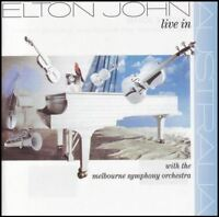 ELTON JOHN - LIVE IN AUSTRALIA with MELBOURNE SYMPHONY ORCHESTRA CD *NEW*
