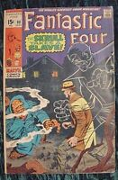 FANTASTIC FOUR 90 VF VERY FINE (1969 MARVEL COMIC) KIRBY