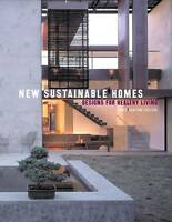 New Sustainable Homes: Designs for Healthy Living-ExLibrary