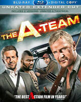 The A-Team (Blu-ray, 2010, 2-Disc Set, Unrated Extended Cut) with Slipcover