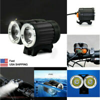 15000lm 2 XM-L T6 LED USB Rechargeable Waterproof Bike Bicycle Head Light Lamp