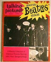 1964 TALKING PICTURES # 1 Special BEATLES Issue PHOTOS