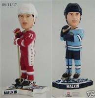 Evgeni Malkin Pittsburgh Penguins Bobble Head 2 Piece Set -  Very Low Numbered