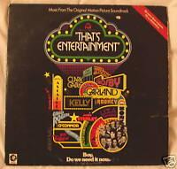 THAT'S ENTERTAINMENT (FILM MOVIE MUSICALS VINYL LP)