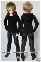 Super Dollfie(SD/Luts)Outfit-1/3 1/4 70cm Black Hoodie