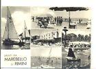 MAREBELLO DI RIMINI B/N VIAGG 1959 VEDUTINE OCCC