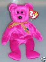 Ty Beanie Baby Millennium Bear Jahrtausendbär Erdkugel Tag unbespielt Neu