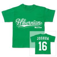 HIBERNIAN HIBS Football Personalised Boys/Girls T-Shirt