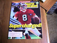 Sports Illustrated 1995 Steve Young Playoffs Cover