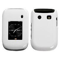 Ivory White Hard Case Cover for Blackberry Style 9670