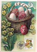 2006 - SLOVAKIA  - MAXIMUM CARD - EASTER