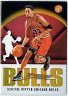 Scottie Pippen 03-04 Topps Pristine Gold Refractor #/99