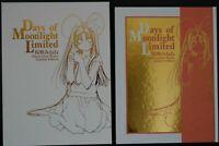 Minene Sakurano Art book Days of moonlight Limited OOP