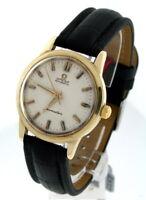 Omega Seamaster Vintage 14k Gold 34mm Watch.