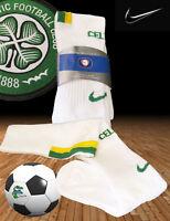 New NIKE CELTIC International Football Socks Childs Boys Girls UK12-2  Eur 31-33