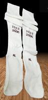New NIKE ARSENAL Football Socks Player Issue Highbury White XL Adults 11.5+