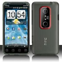 Crystal Clear Hard Case Phone Cover Sprint HTC EVO 3D