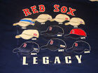 Boston Red Sox Legacy Hat T Shirt Baseball MLB XL NWT
