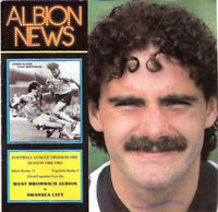 WEST BROMWICH ALBION v SWANSEA CITY 13 NOV 82 PROGRAMME