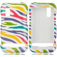 White Rainbow Hard Case Phone Cover Motorola Photon 4G