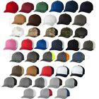 FLEXFIT NEW Trucker Cap Fitted Mesh Sports Baseball Hat One Size ANY Color 6511