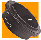 Canon FD Lens to Micro 4/3 m4/3 Four Thirds Mount Adapter ring for E-P1 PL2 GH2