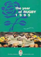 RUGBY FOOTBALL UNION 1995 ANNUAL ENGLAND RUGBY BOOK