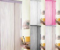 NEW Glitter String Door Curtain Patio Fly Screen Curtains Pink Black White Lilac
