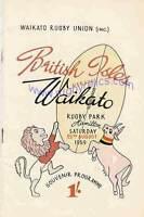 BRITISH LIONS 1959 v WAIKATO RUGBY PROGRAMME