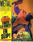 METAL HURLANT N° 60 LA MORT DE LENNON : TOUTE LA VERITE 1981 TRES BON ETAT