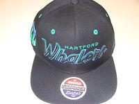Zephyr Hartford Whalers Black Snapback Cap Hat Headliner NHL Hockey OSFM
