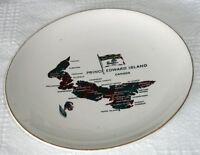 "Vintage LORD NELSON POTTERY PRINCE EDWARD ISLAND Tartan CANADA 7""  PLATE"