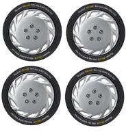 "Wheel Trims 15"" FORD FOCUS 2008- Set of 4 Covers + Valve Caps & Ties"