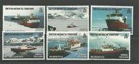 BRITISH ANTARCTIC TERRITORY-2011 ROYAL RESEARCH SHIPS SET- MNH